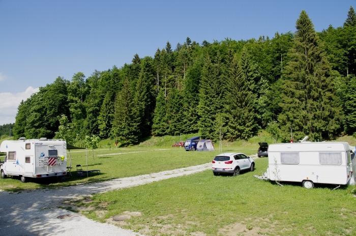 servizi e zona camper in Folgaria